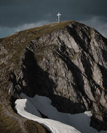 Ivan Bandic, the summit. (Austria, Europe)