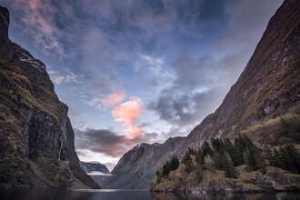 Felix Baab, Sonnenuntergang im Fjord (Norwegen, Europa)