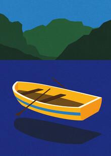 Rosi Feist, Boat On The Mountain Lake (Deutschland, Europa)