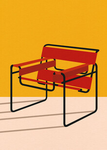 Rosi Feist, Marcel Breuer Wassily Chair (Germany, Europe)