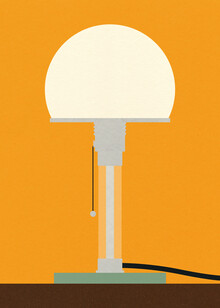 Rosi Feist, Bauhaus Table Lamp Wagenfeld WG24 (Deutschland, Europa)