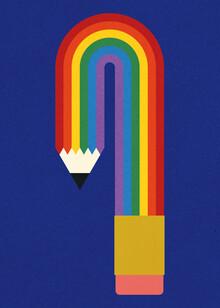 Rosi Feist, Rainbow Pencil (Germany, Europe)