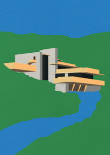 Rosi Feist, Frank Lloyd Wright Falling Water (Germany, Europe)