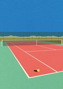 Rosi Feist, Tennis Court In The Desert (Deutschland, Europa)