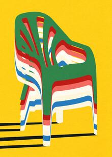 Rosi Feist, Stack Of Plastic Chairs (Deutschland, Europa)