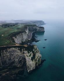 Daniel Schumacher, Die Küste von Etretat -  Frankreich (Frankreich, Europa)