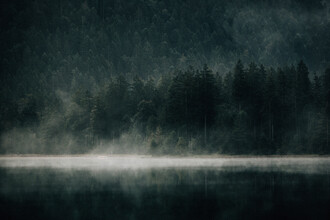 Stefan Sträter, Foggy Lake (Austria, Europe)