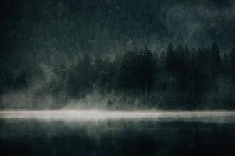 Stefan Sträter, Foggy Lake (Austria, Europe)