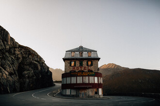 Stefan Sträter, Hotel Belvedere (Switzerland, Europe)