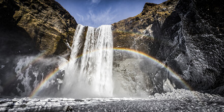 Andreas Adams, SKOGAFOSS (Iceland, Europe)