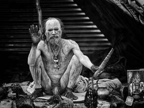 Naga Sadhu - Fineart photography by Jagdev Singh
