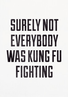 Photocircle , Surely Not Everybody Was Kung Fu Fighting (Germany, Europe)