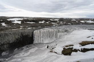 Marvin Kronsbein, Dettifoss in winter (Iceland, Europe)