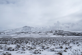 Marvin Kronsbein, Lavaebene auf Island (Island, Europa)