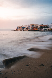 Little Venice, Mykonos - Fineart photography by Christian Becker