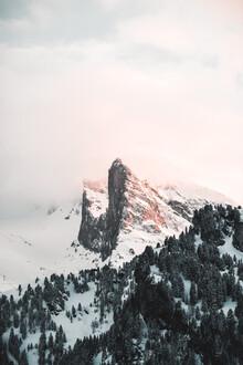 Christian Becker, Sonnenuntergang am Hintertuxer Gletscher (Deutschland, Europa)