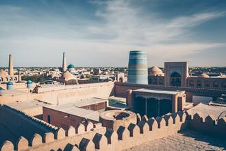 Eva Stadler, Itchan Kala, Khiva, Uzbekistan (Uzbekistan, Asia)