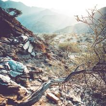 Franz Sussbauer, Hügel im Dunst II (Oman, Asien)