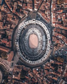 Christian Hartmann, Colloseum from above (Italy, Europe)