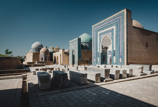 Eva Stadler, Gräberstraße Shohizinda, Samarkand (Usbekistan, Asien)