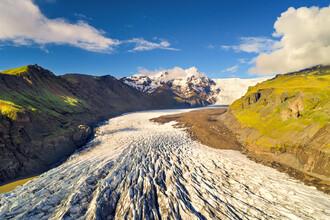 Dave Derbis, Svinafellsjoekull (Island, Europa)