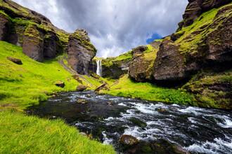 Dave Derbis, Schlucht des Kvernufoss (Island, Europa)