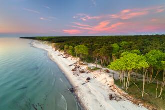 Dave Derbis, Sonnenuntergang am Strand (Deutschland, Europa)