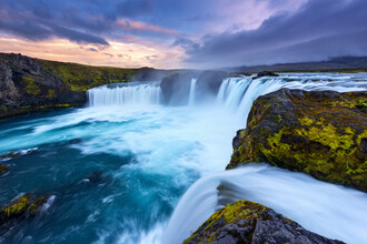 Dave Derbis, Waterfall of the Gods (Iceland, Europe)