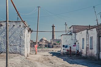Eva Stadler, Chiwa, außerhalb der Stadtmauer (Usbekistan, Asien)