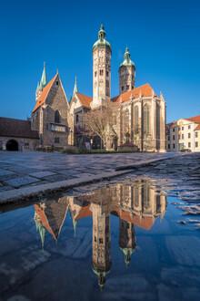 Martin Wasilewski, Naumburg Cathedral in the mirror (Germany, Europe)