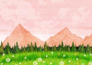 Katherine Blower, Pink Mountains (Großbritannien, Europa)
