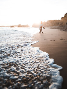 Maximilian Pohler, Beach walk at the Algarve (Portugal, Europe)