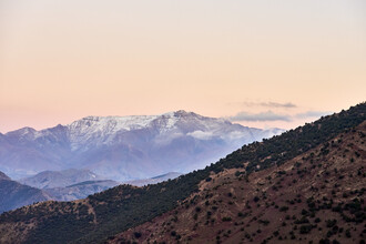 Saskia Gaulke, Abend in den Bergen (Marokko, Afrika)