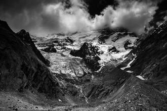 Gletscher am Manali Leh Highway - fotokunst von Michael Wagener