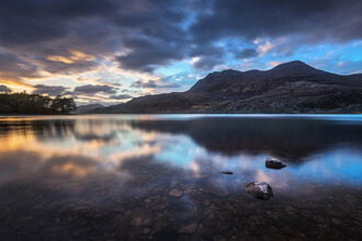Felix Baab, Loch Maree Sonnenuntergang - Schottland (Großbritannien, Europa)
