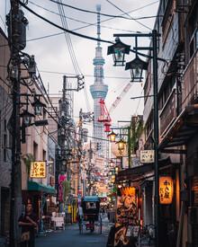 Dimitri Luft, skytree street (Japan, Asia)