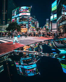 Dimitri Luft, shibuya reflection (Japan, Asien)