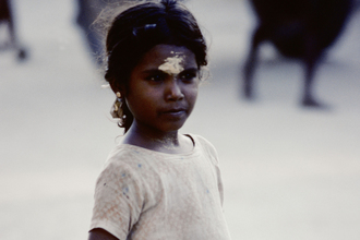 Michael Schöppner, The child from Rameshwaram (Indien, Asien)