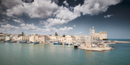 Norbert Gräf, View over the harbor of Trani in south Italy (Italy, Europe)