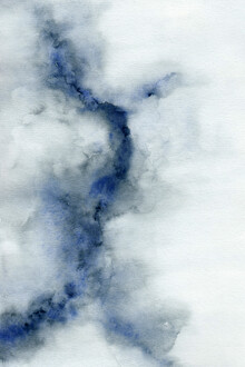 Cristina Chivu, Ice Cracking | Watercolour Painting (United Kingdom, Europe)