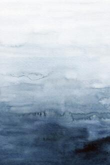 Cristina Chivu, Indigo Abstract Painting | No. 4 (United Kingdom, Europe)
