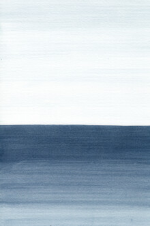 Cristina Chivu, Ocean Watercolor Painting No.1 (Großbritannien, Europa)
