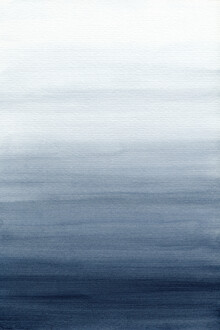 Cristina Chivu, Ocean Watercolor Painting No.2 (United Kingdom, Europe)