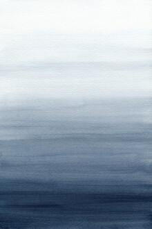 Cristina Chivu, Ocean Watercolor Painting No.2 (Großbritannien, Europa)