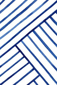Cristina Chivu, Watercolor Lines Pattern (Großbritannien, Europa)