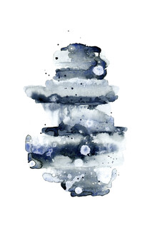 Cristina Chivu, Indigo Abstract No. 1 (United Kingdom, Europe)