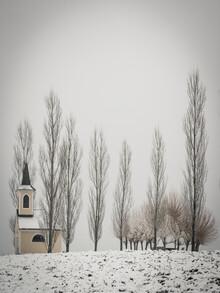 Bernd Grosseck, Bergkapelle Gniebing im Winter (Österreich, Europa)