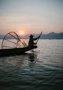 Julian Wedel, Burmese fisherman 2 (Myanmar, Asien)