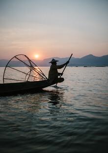 Julian Wedel, Burmese fisherman 2 (Myanmar, Asia)
