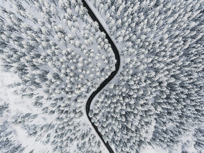 Lina Jakobi, Winter Roads (Germany, Europe)
